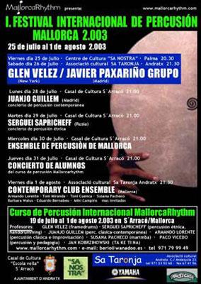 Festival Percussio 2003
